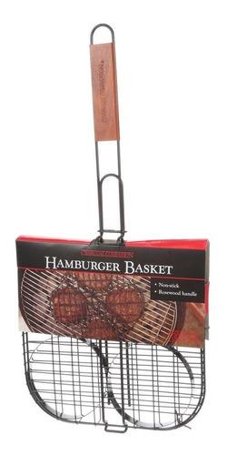 asador hamburguesas pinzas para hamburguesas a la parrilla