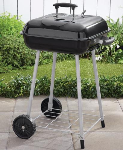 asador para carbon expert grill con ruedas 17in envio gratis