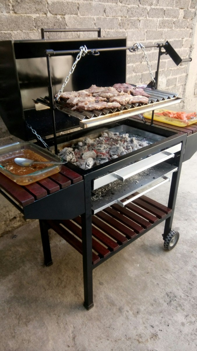 Asador para carne tipo parrilla argentina 5 en - Parrillas para asar carne ...