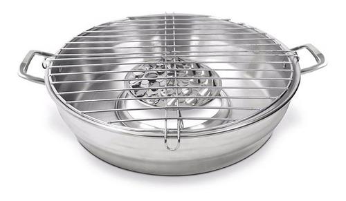 asador para estufa con difusor de calor aluminio original