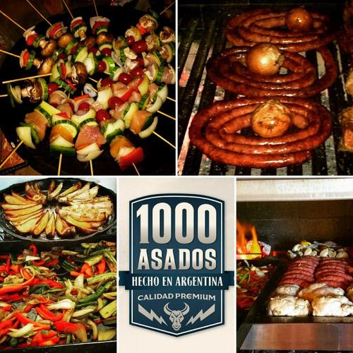 asador, parrillero a domicilio catering de asados & veggie