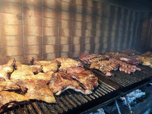 asador parrillero  a domicilio  eventos catering