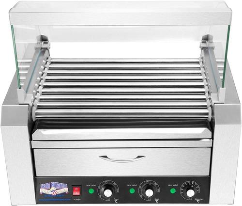 asador perros calientes 24 salchichas calentador pan