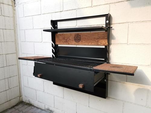 asador plegable grande (incluye funda y envío gratis)