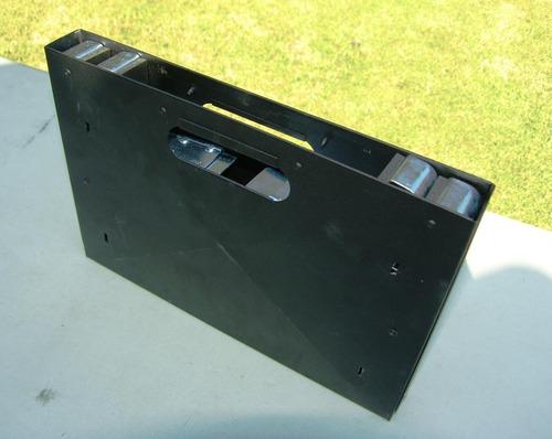 asador portátil compacto para depas, terrazas, días de campo