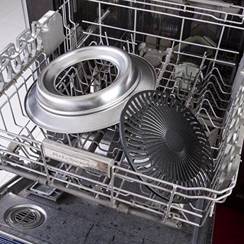 asador sin humo interiores kitchen + home kh-130
