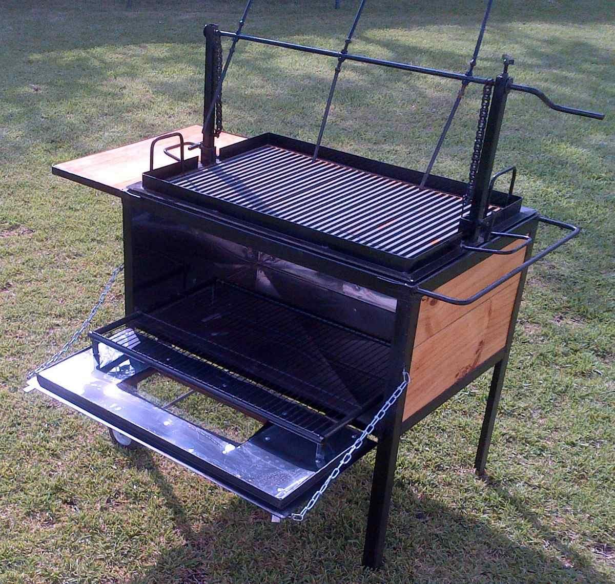 asador tipo ataud jumbo horno acero inox c termometro 8 300 00