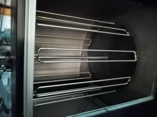 asadora de pollos a las brasas