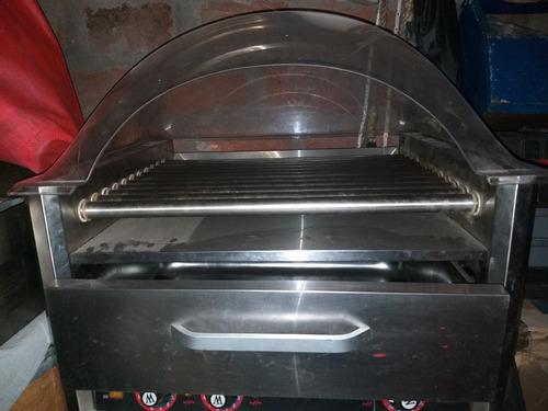 asadora de salchichas 11 rodillos casi nueva