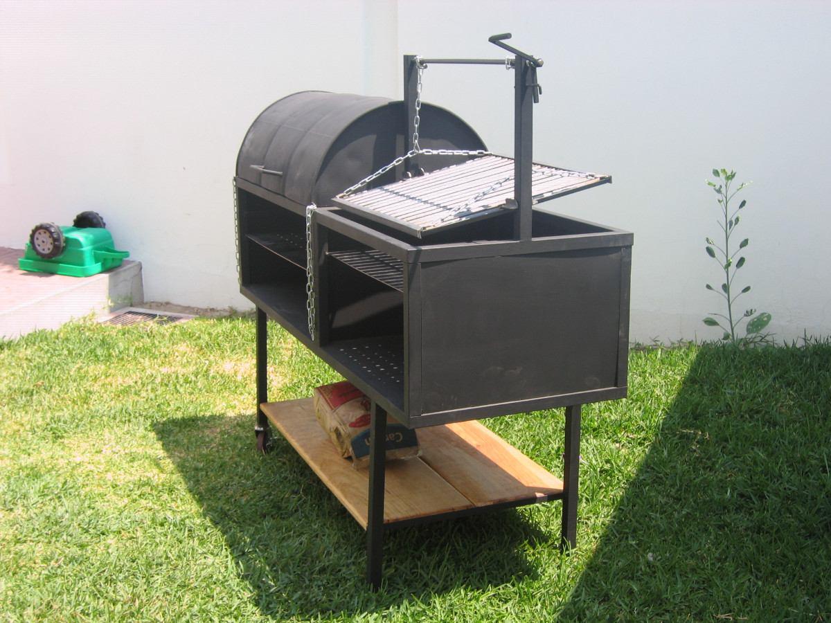 Asadores de carne 6 en mercado libre for Asadores para carne jardin