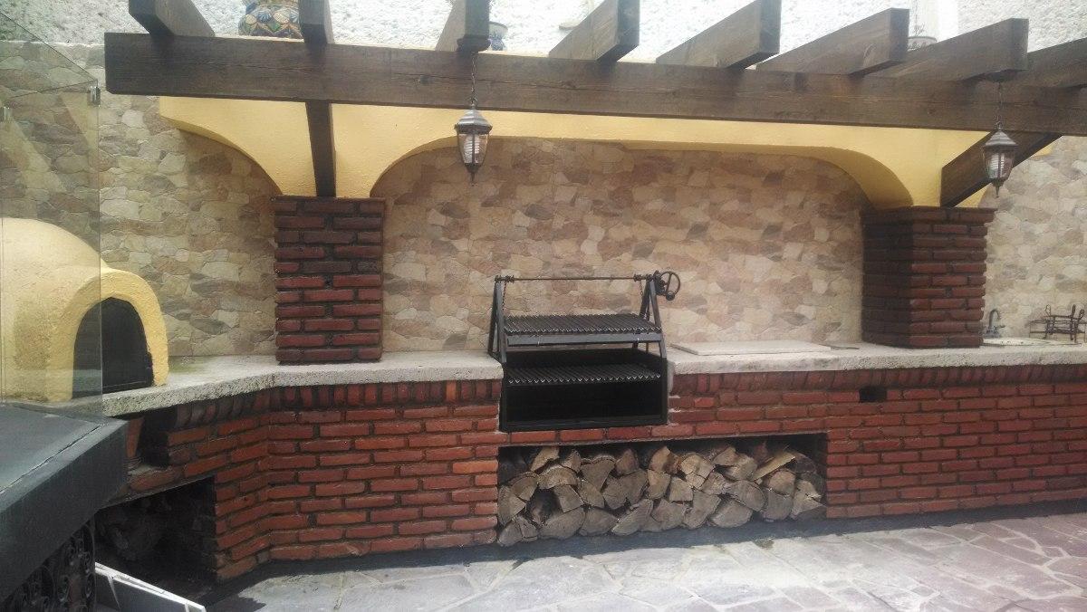 asadores de carne al carbon tipo parrilla argentino