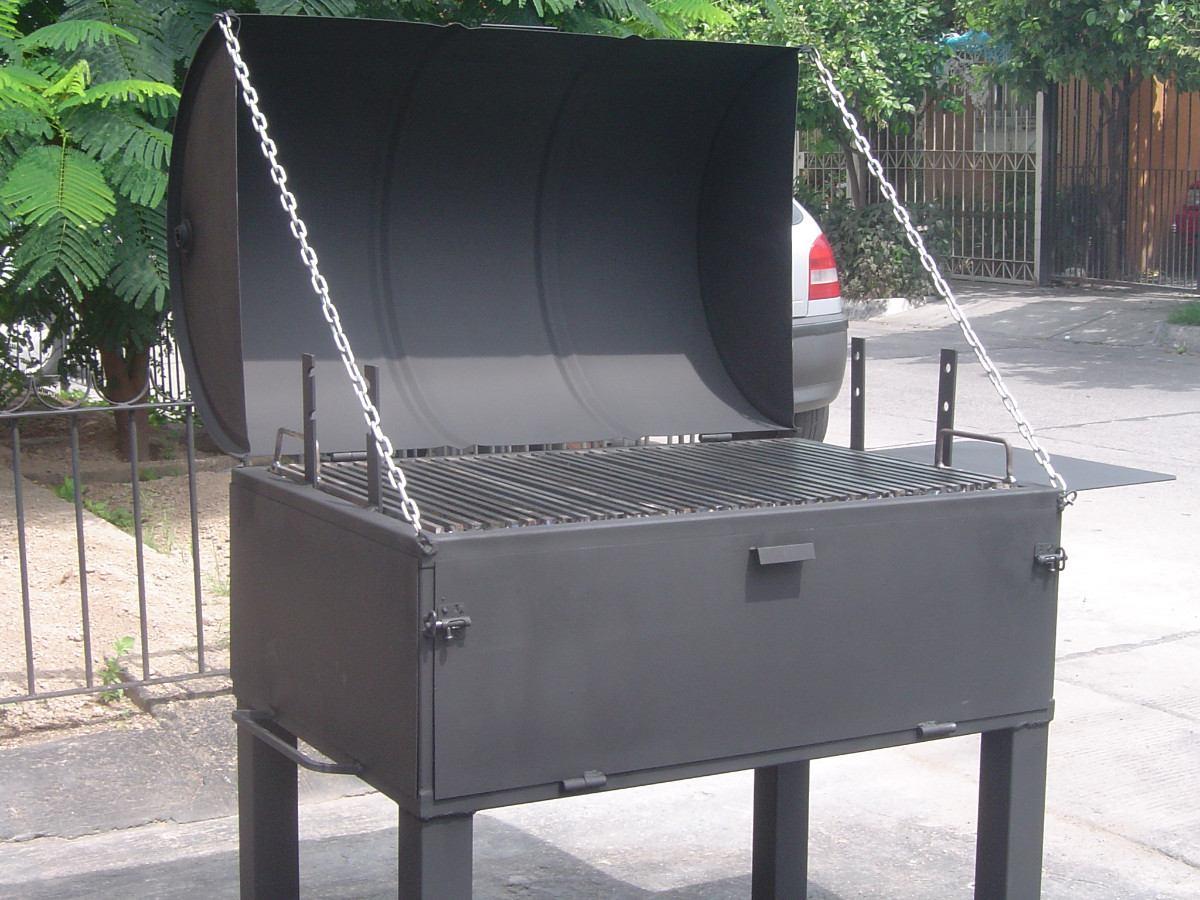 Asadores de carne argentino con horno ataud y ahumador for Asador para jardin