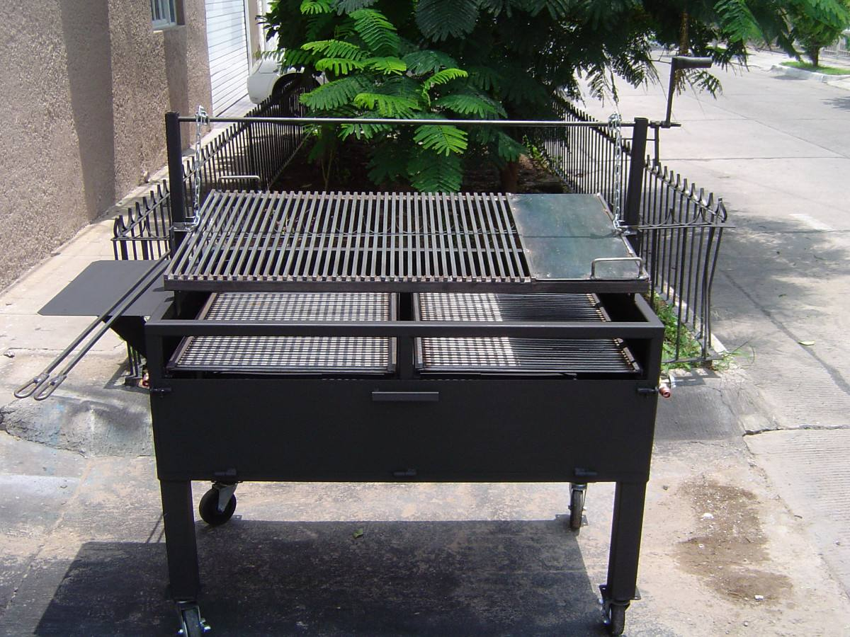 Asadores de carne argentino jumbo parrilla ajustable 6 en mercado libre - Parrillas para asar carne ...