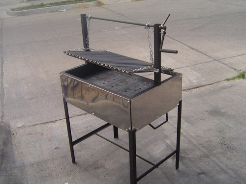 asadores de carne. argentino sencillo