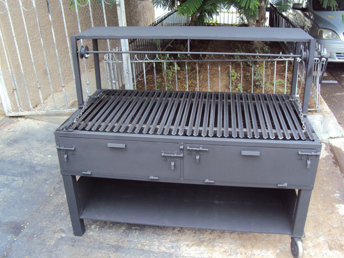 Asadores de carne argentinos 10 en mercado libre for Asadores para carne jardin