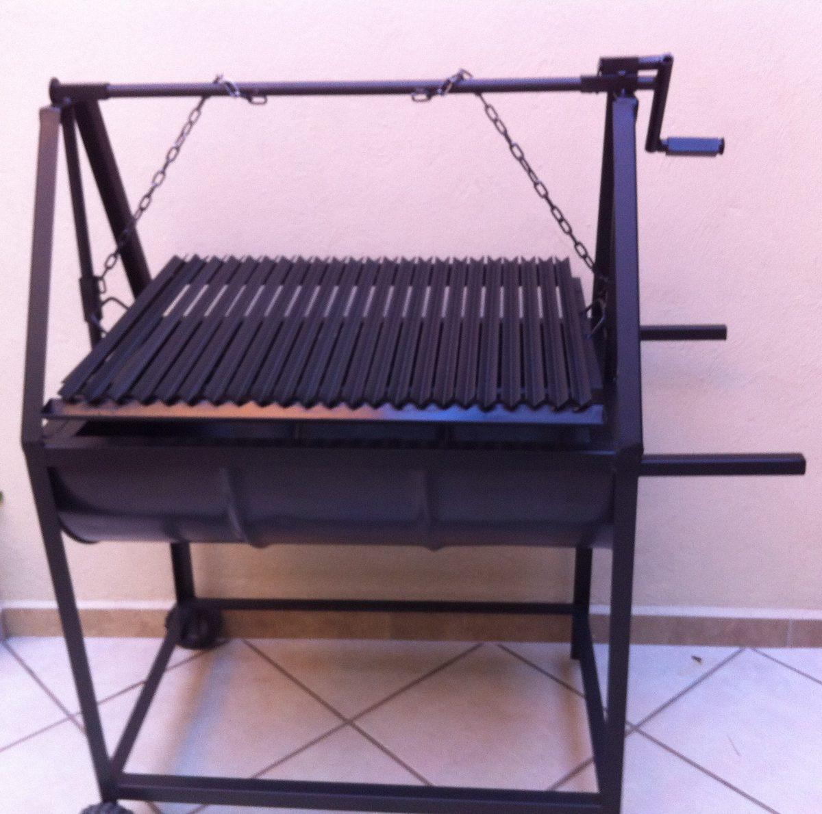 asadores tipo argentino para carb n parrillas uso rudo