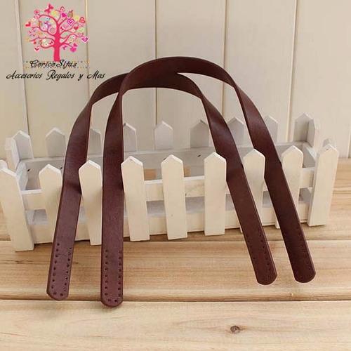 asas para bolsa tejida de colocacion a mano
