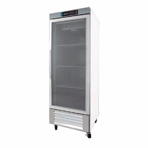asber arf-17-1g-bl congelador 1 puerta cristal xxcon
