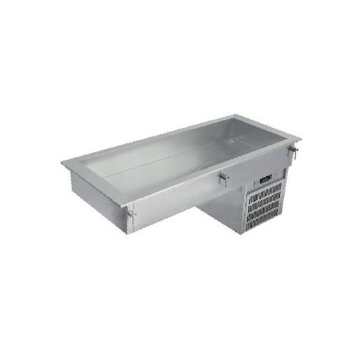 asber edesa drfb-311-cu mesa fría tina 3 entero barra xxmes3