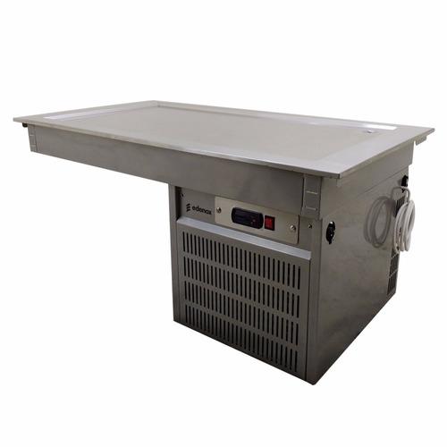 asber edesa drfp-311-cu mesa fría 3 enteros placa xxmes3