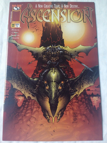 ascension #20 b image comics en ingles . superman spiderman