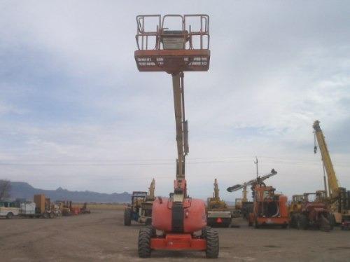 ascensor canastilla t/jirafa 60 pies marca jlg modelo 600a