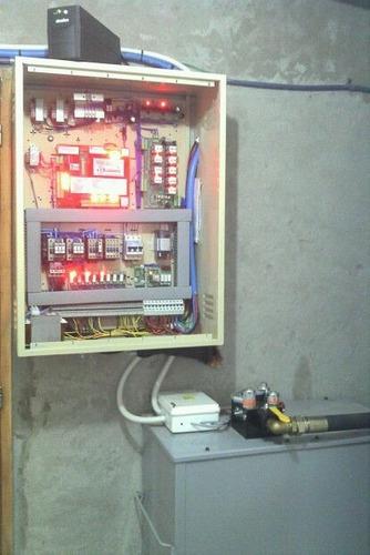 ascensor para casas (residencial) hidráulico instalado
