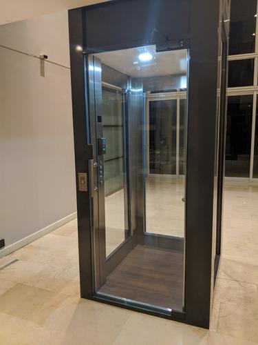 ascensor residencial autoportante