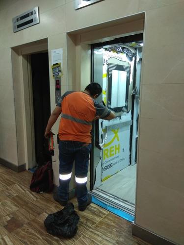 ascensores control electrico