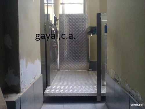 ascensores discapacitados y tercera edad