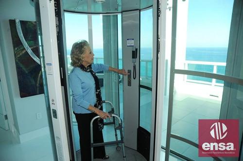 ascensores neumáticos, unicos en peru, instalacion