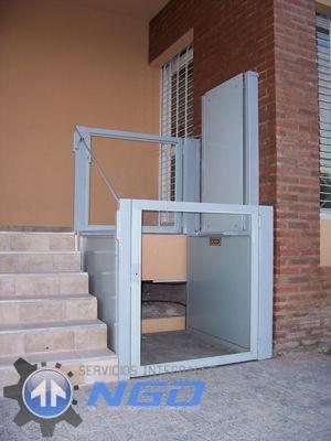 ascensores ngd- montacargas y plataformas p/ discapacitados