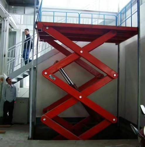 ascensores para vehiculos o carga, tipo torre o tijera