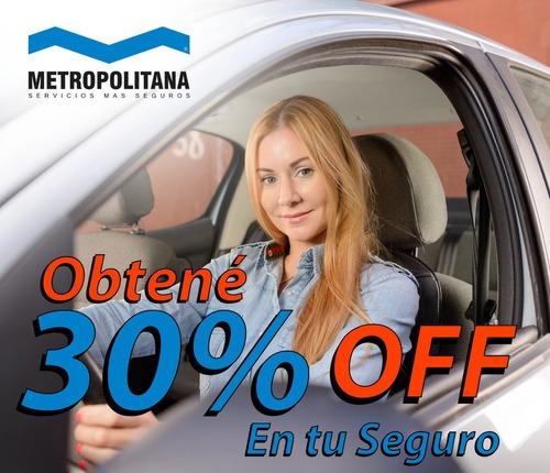 asegurá hoy tu auto, tu moto, tu casa con descuento del 30%