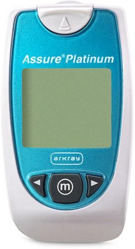 asegurar el medidor de glucosa en sangre de platino