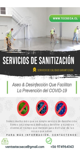 aseo a domicilio sanitización pre entrega post mudazas