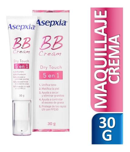 asepxia bb cream dry touch 5 beneficios en 1 30grs
