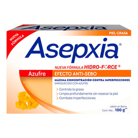 Asepxia Jabón Azufre 100g