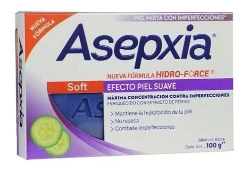 asepxia jabón exfoliante 100gr