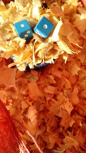 aserrín y viruta de madera de pino natural