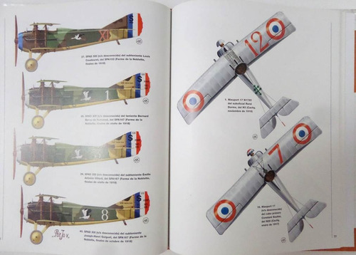 ases aviación francesa primera guerra mundial osprey avión