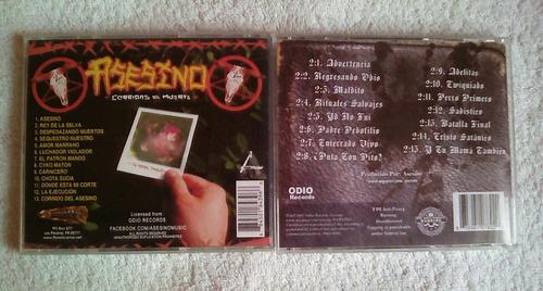 asesino cd's
