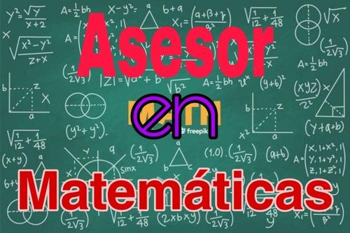 asesor en matemáticas