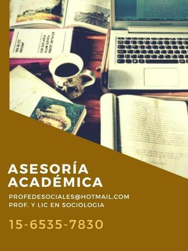 asesor tesis, tesinas, monografias, trabajos