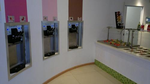 asesoramiento en maquina helado soft, yogurt helado
