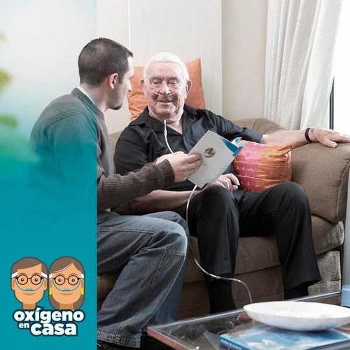 asesoramiento en oxigenoterapia domiciliaria.