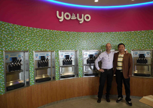asesoramos en maquina maquinas de helado soft, yogurt helado