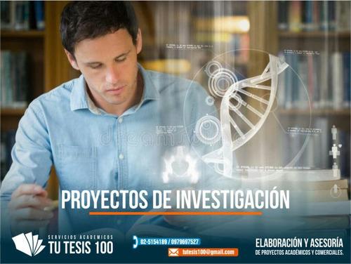asesoría académica en tesis, ensayos, artículos científicos