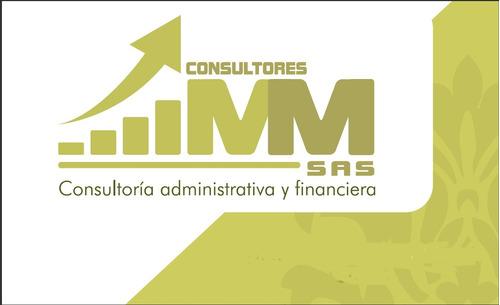 asesoría administrativa y financiera empresarial.