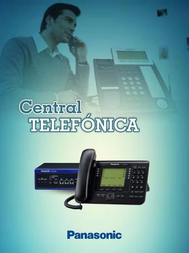 asesoria centrales panasonic analogas /ip- nuevo- programac